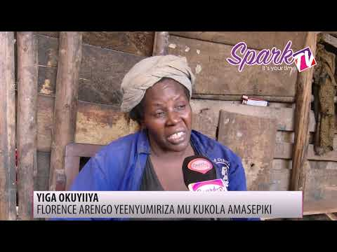 YIGA OKUYIIYA: Florence Arengo yenyumiriza mu kuweesa amasepeki
