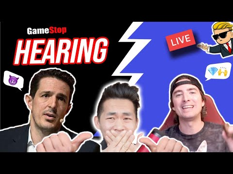 🔥 LIVE NOW 🔥 GameStop ($GME) SEC HEARING | Ask a Data Scientist your Stock Questions