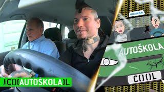 COOL autoškola s Lukášem: ty vobrubníky trefíme všechny!