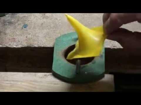Konen für Blasrohrdarts Plastik Herstellung