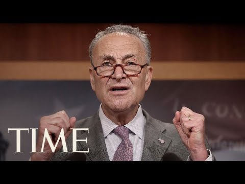Schumer Overheard On Hot Mic: Trump 'Likes Me' | TIME