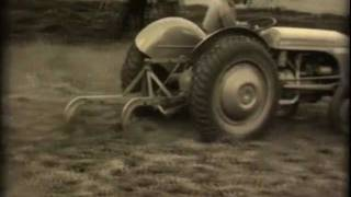 Ferguson tractor, old commercial