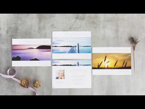 Trauerkarten online gestalten und drucken lassen - Dankeskarte.com