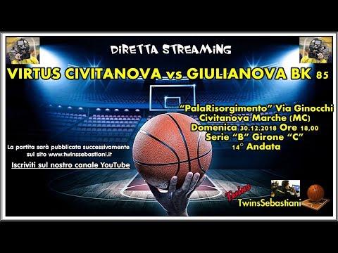 Preview video Diretta Rossella Civitanova - Basket Giulianova