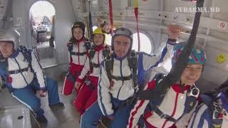 Первые прыжки с парашютом. Группа №1