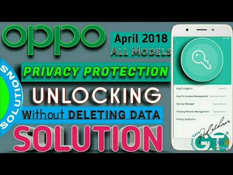 OPPO | PRIVACY PROTECTION LOCK Password , Pattern Unlock
