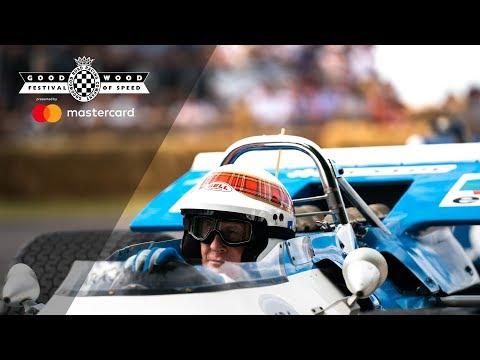 Celebrating Sir Jackie Stewart at Goodwood Festival of Speed