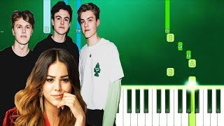New Hope Club, Danna Paola   Know Me Too Well (Piano Tutorial Easy) By MUSICHELP
