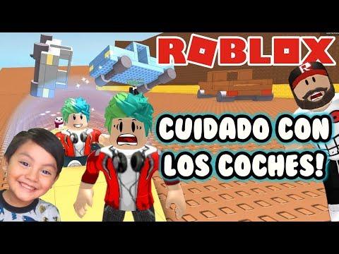 Caida Libre en Roblox | Cuidado con los Coches | Juegos Roblox Roleplay