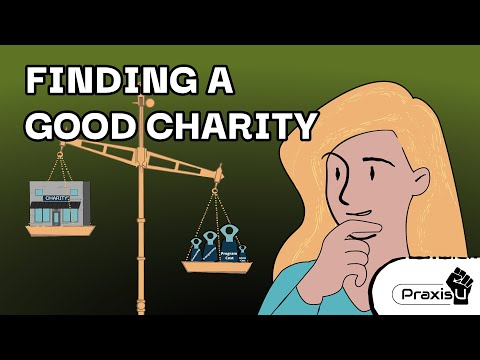 Finding a Good Charity