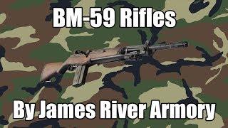 BM-59 7.62 NATO/.308 Caliber Mag Fed Semi-Auto Rifle w/ New Barrel on James River Receivers, by JRA