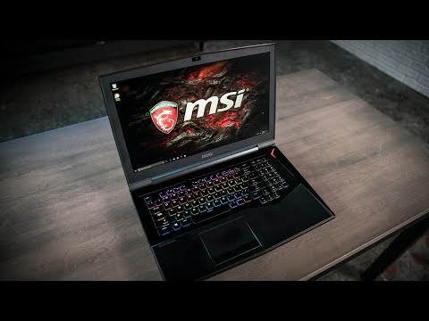 MSI GT75VR Titan Hands-on: It's heavy into VR