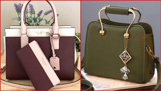 Designers Women Leather Handbags Latest Design 2020   Ladies Leather Handbag   Leather Shoulder Bag