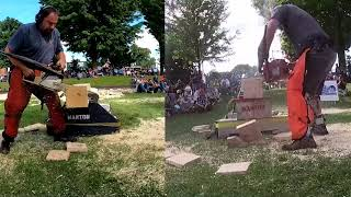 Manton Mi Labor Day Lumberjack Competition 2021