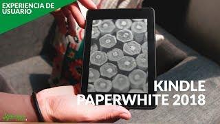 Amazon Kindle PaperWhite 2018, EXPERIENCIA DE USO: ahora con resistencia al agua