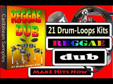 21 dub Reggae Drum-loops Kits/All Independence Stems