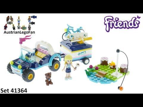 Vidéo LEGO Friends 41364 : Le buggy et la remorque de Stéphanie