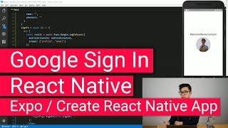 react native firebase google authentication - Thủ thuật máy tính