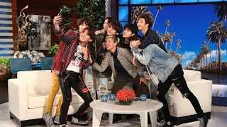 BTS Comeback: Behind the Scenes with BTS on Ellen - Video Youtube