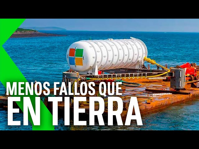 MICROSOFT saca DEL FONDO OCEÁNICO su MEGASERVIDOR tras 2 AÑOS, Y FUNCIONA
