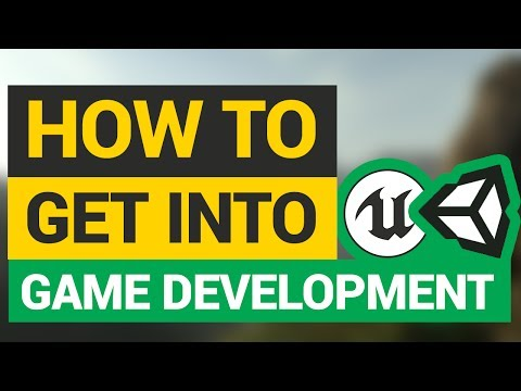 How To Get into Game Development! (Teachers, School, Self-Taught and MORE!)
