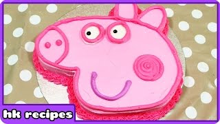 Peppa Pig Birthday Cake | DIY Quick and Easy Cake Recipes
