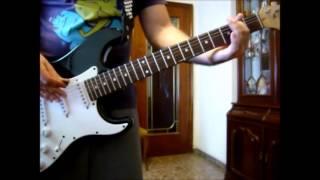 Danko Jones - Sticky Situation (cover guitar)