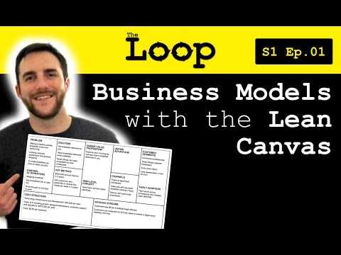 Kiley video about Lean Model Canvas