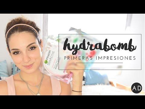 Primeras impresiones | (Ad) Garnier Hydrabomb MaskTissu