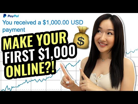 How to Make Your First $1000 on Social Media (4 DIFFERENT WAYS)
