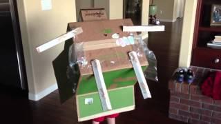 Buzz Lightyear Made Of Cardboard