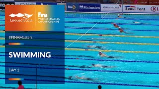 RE-LIVE |Swimming Day 2 | Main Pool |FINA World Masters Championships 2019