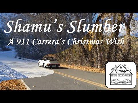 White Porsche Christmas - Shamu's Slumber - A Holiday Christmas Wish