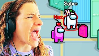 WHO IS THE IMPOSTOR!?! (Sabre didn't know) Gaming w/ The Norris Nuts