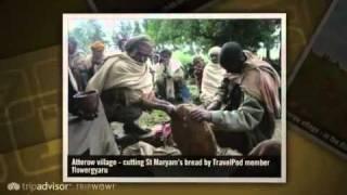 preview picture of video 'Community Tourism trek through remote villages Flowergyaru's photos around Gashena, Ethiopia'
