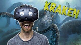 BECOME THE KRAKEN IN VR | Kraken VR - HTC Vive Gameplay