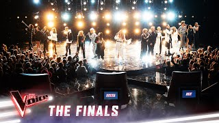 Karise Eden & The Top 16 'We Are The Champions' And 'It's A Man's World' | The Voice Australia 2019
