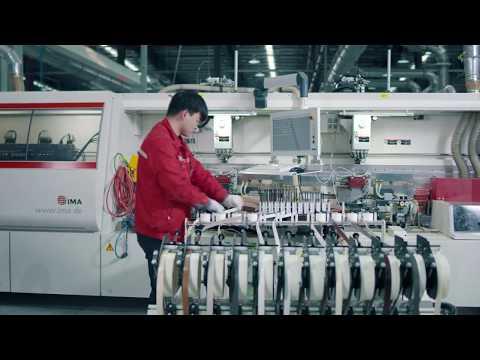 Batch-size-one 4 machines | U-shape edgebanding line | China