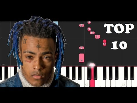 XXXTENTACION'S TOP 10 SONGS ON PIANO