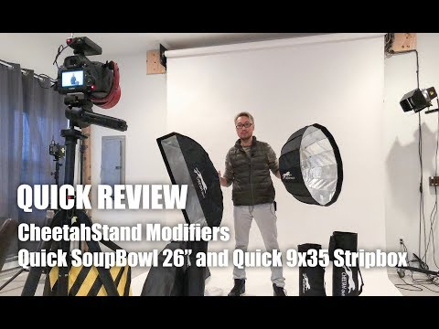 Review CheetahStand Quick SoupBowl 26 and Quick 9x35