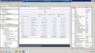 SAP BO Design Studio Introduction