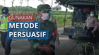 TNI-Polri di Kediri Bubarkan Massa secara Persuasif Humanis