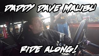 TAKE A RIDE WITH STREET OUTLAWS DADDY DAVE IN HIS PROCHARGED MALIBU!