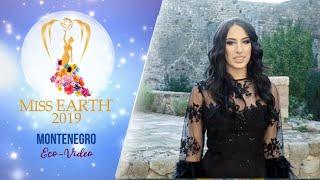 Nikoleta Rakocevic Miss Earth Montenegro 2019 Eco Video