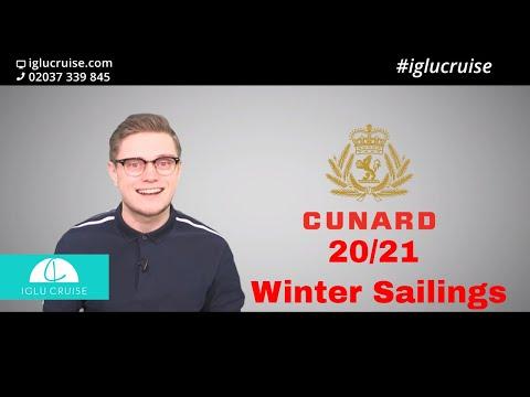 Cunard Winter 2020/2021 Sailings Available Today!!! | Iglu Cruise