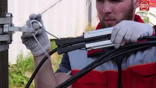 Анкерный зажим н15 для кабеля типа ftth