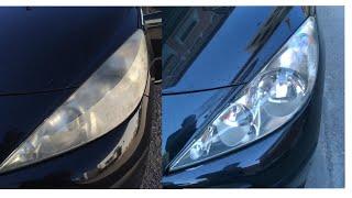 Cómo devolverle la transparencia a los faros del coche / Cómo pulir los faros del coche