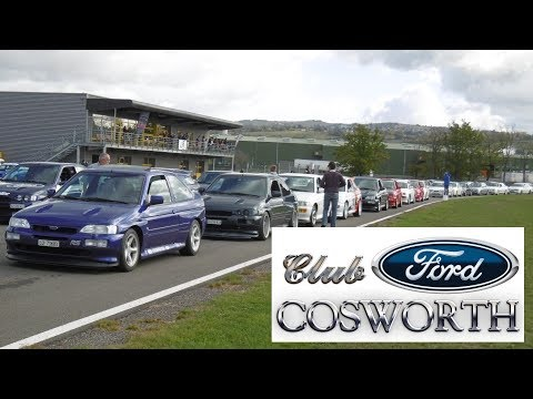 Club Ford Cosworth au Circuit Paddock 2017 Version longue