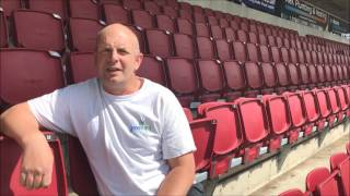 YOUTUBE Head Groundsman Paul Knowles talks about the renovation of the Sixfields