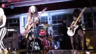 Cherri Bomb Shake The Ground Live at the DNA Lounge 6/1/14